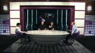 """Игорь Волошин и Сергей Светлаков в студии """"Магии кино"""""""