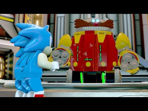 Sonic The Hedgehog Defeat Robot Egg Man Boss Fight Lego Dimensions 4k Uhd 2160p Youtube