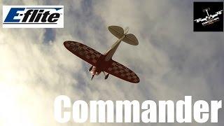 e flite commander   first flight 3s 3200mah pack