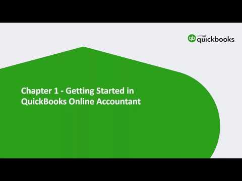 QBO Certification: Part 1 – Getting Started with QuickBooks Online & QuickBooks Online Accountant