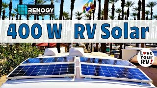 Upgrading My Renogy RV Solar System to 400 Watts