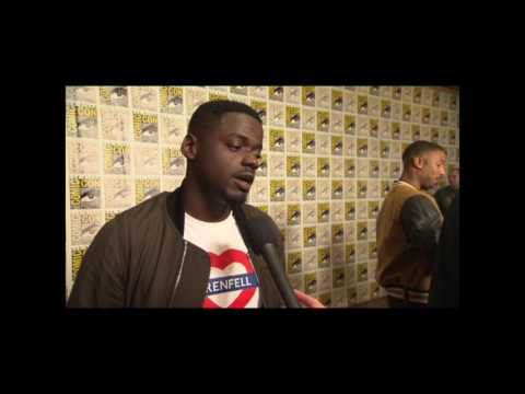 Daniel Kaluuya Interview On Black Panther Trailer and San Diego Comic Con Hall H Reaction #SDCC