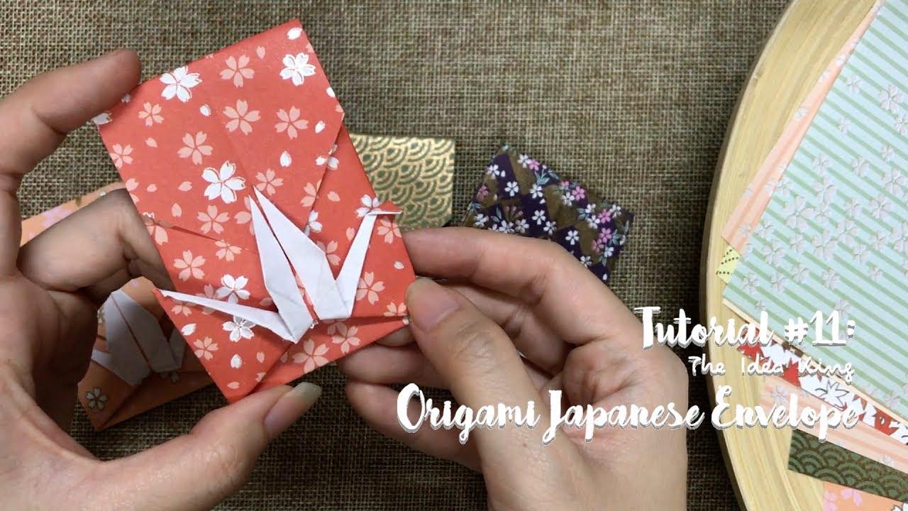 Paper crane envelope | Origami diagrams, Origami crafts, Origami ... | 720x1280
