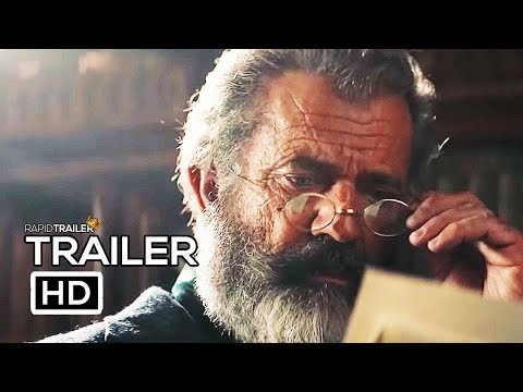 THE PROFESSOR AND THE MADMAN Official Trailer (2019) Mel Gibson, Sean Penn Movie HD