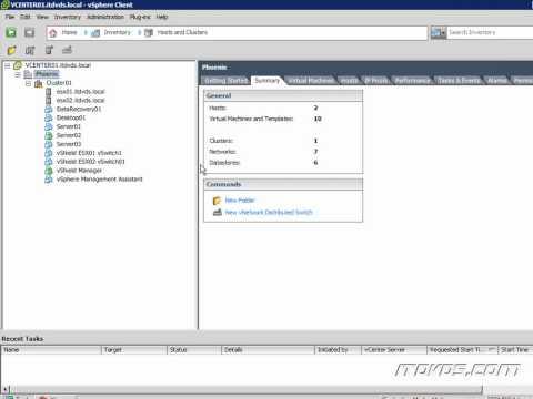 VMware vSphere Administration CBT - Cloud Computing Explained