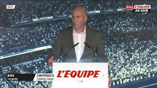 Zidane «C'était le moment de partir» - Foot - ESP - Real Madrid