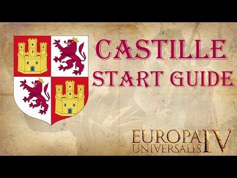 EU4 Castille [Spain] start guide 1.15