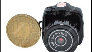 Мини видеокамеры для скрытого наблюдения, Микрокамера Y2000(Приобрести мини видеокамеру для скрытого наблюдения, можно перейдя по ссылке http://z789.ru/link/11285 Мини камера..., 2015-07-27T15:45:29.000Z)