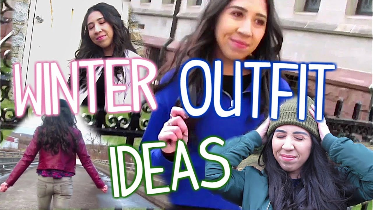 4 WINTER OUTFIT IDEAS LOOKBOOK 2019!! 2