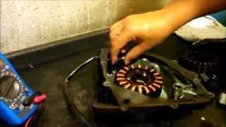 Como Testar Bobina de Pulso sensor de rotação Comet/Mirage
