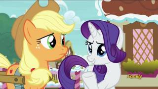 Rarity wants Applejack to judge the Fashion Contest - Honest Apple