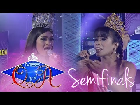 It's Showtime Miss Q & A Semifinals: Elsa Droga Vs. Benzen Galope Delos Verges | Di Ba? Teh! Ganern