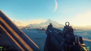 STAR CITIZEN - 58 Minutes of CRAZY FPS Combat Gameplay (All First Person Shooter Gameplay So Far!)