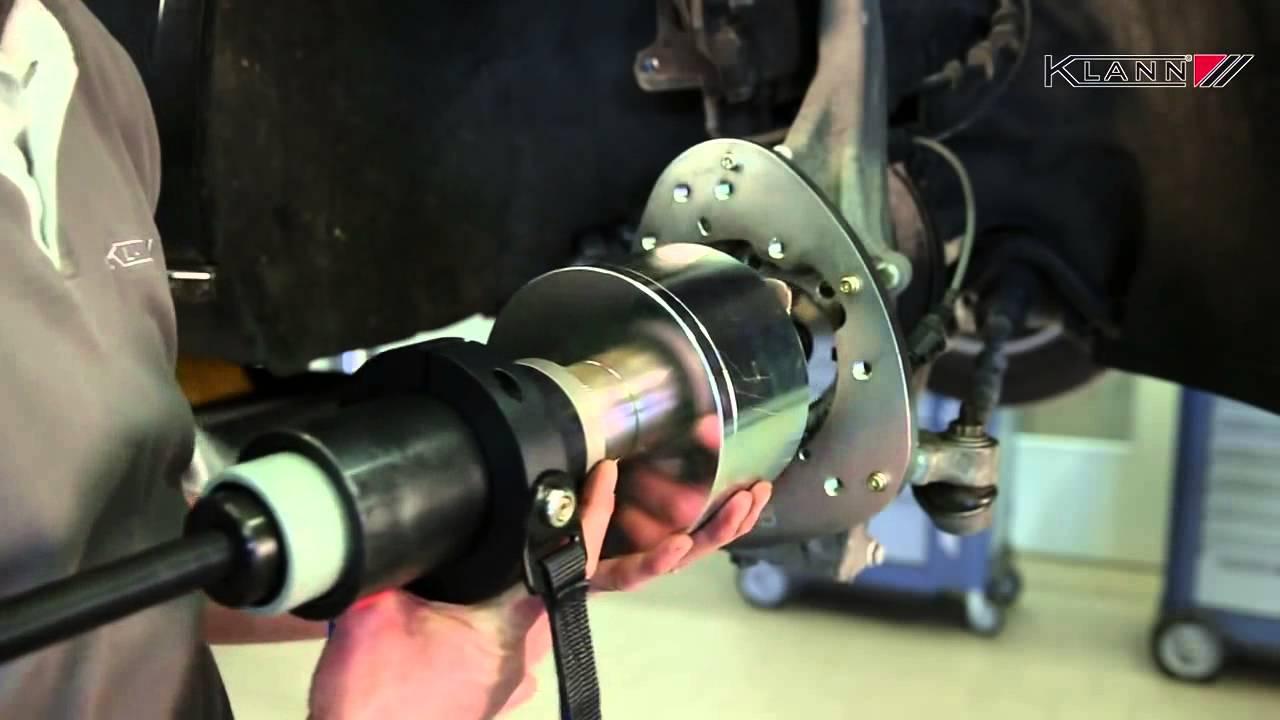 Como cambiar unidad buje rodamiento de Sprinter,Vito,Viano y Crafter ...
