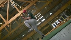 Baseball - Der schnelle Wurf des Pitchers