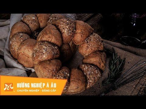 Học làm bánh mì - Cách làm bánh mì ngũ cốc ngon đúng chuẩn