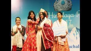 2017 Miss Himalaya, Miss Preksha Rana.