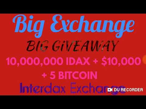 Get free 100$ |  Free joining | Interdax exchange | how to participate?
