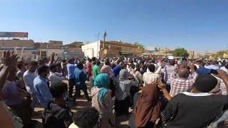 הפגנות בסודן נגד הרודן עומר אל-באשיר