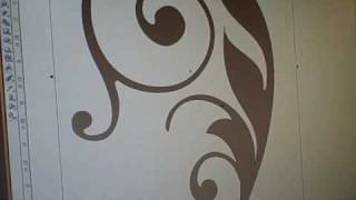 Etched Glass Vinyl Video Using Corel Draw X3 & SignCut - Etched Cabinet Glass(This video is a demonstration of how we layout designs using Corel Draw X3 so that we can imput it to SignCut for cutting of our etched glass vinyl. This same ..., 2010-03-07T18:38:12.000Z)