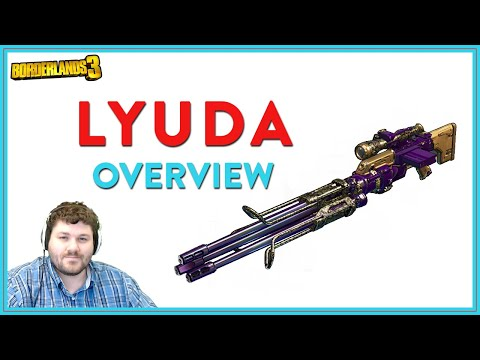 They Say Its The Best Gun | Borderlands 3 | Lyuda Legendary Sniper Rifle