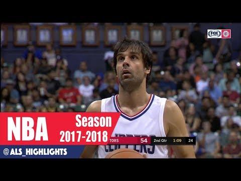 Milos Teodosic Full Clippers Debut Highlights 2017.10.01 vs Raptors -8 Nasty Assists, European CP3?
