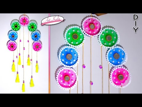 DIY wall hanging decor from old waste bangles | wall decor | Best out of waste | Artkala169