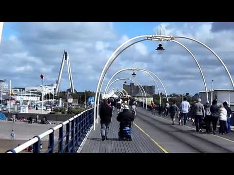Walk along Southport Pier Sat 25th July 2015
