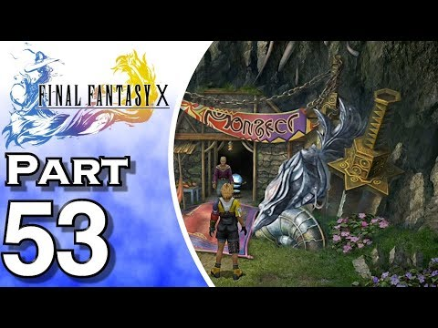 Let's Play Final Fantasy X - PS4 - (Gameplay + Walkthrough) Part 53 - Monster Arena