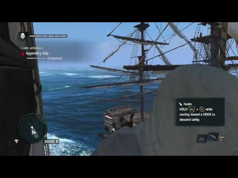 Assassins Creed Black Flag Trying To Take Down Legendary Ships Early