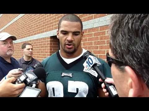 Eagles Clay Harbor on playing defense