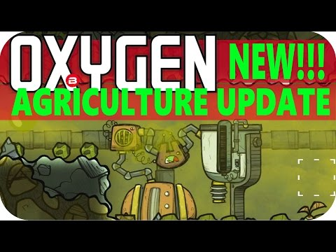 Oxygen Not Included: NATURAL GAS SETUP Lets Play Oxygen Not Included AGRICULTURE UPDATE Gameplay #4