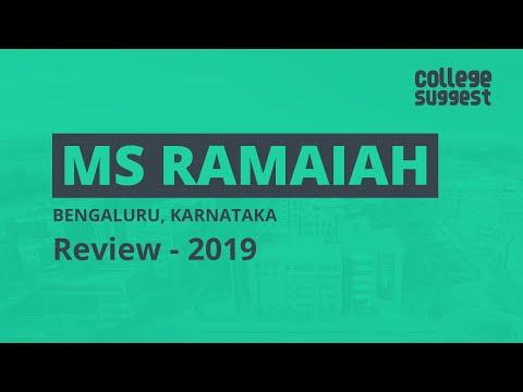 M.S Ramaiah University MSRIT - Review 2019 |