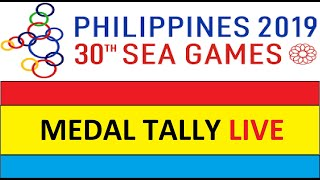 Sea Games Philippines 2019 | Official Medal Tally Live