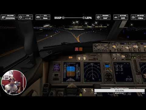 X Plane 11! EGGP - LEPA ~ Live VATSIM Event! ~ With Navigraph Charts! CJW841