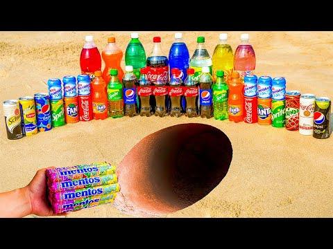 Download Schweppes, Coca Cola, Chupa Chups, Fanta, Sprite, 7up, Mirinda, Pepsi and Mentos in Underground