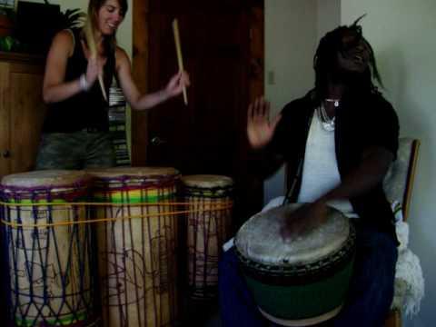 Amara Mansare playing Djaa & Kuku