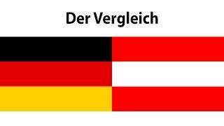 Unterschiede zwischen Deutschland und Österreich. | 2017