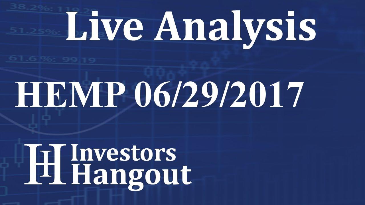 Hemp stock live analysis 06 29 2017 youtube hemp stock live analysis 06 29 2017 ccuart Image collections