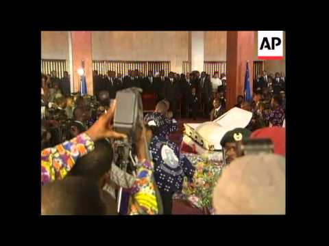 CONGO: KABILA: FUNERAL LATEST - YouTube