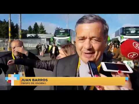 El momento en el que periodista argentina encara a Juan Barros