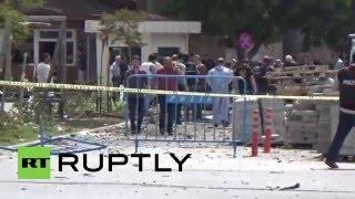 Turkey: 1 killed, 23 injured after blast rocks police headquarters in Gaziantep