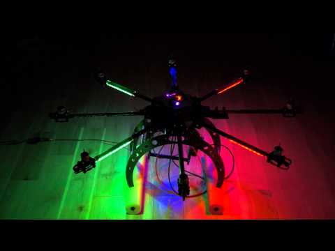 OctoCopter Navigation LEDs