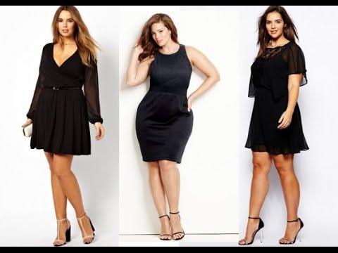 Vestidos Casuales De Color Negro Para Gorditas Moda 2019