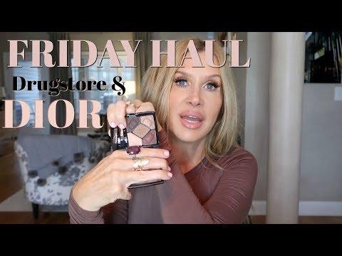 Friday Haul~Drugstore & DIOR