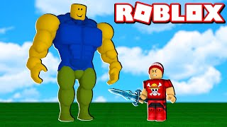 I became a STRONG WARRIOR in the ADVENTURE SIMULATOR → Roblox Adventure Simulator 🎮