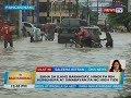 Baha sa ilang barangay, hindi pa rin humuhupa at sinabayan pa ng high tide