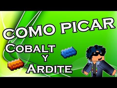 Cómo picar Cobalt y Ardite | Minecraft