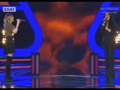 The Voice | Γιώτα Παπαδοπούλου vs Ιωάννα Λαφιώτη | 2o Battle
