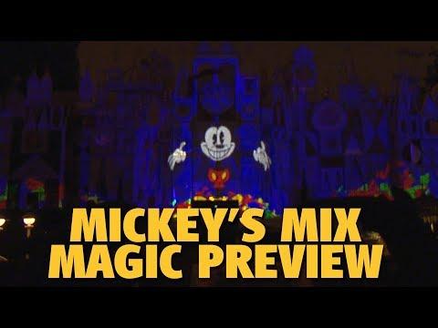 Mickey's Mix Magic Preview | Disneyland Mp3